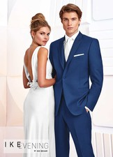 Ike Behar Evening: Cobalt Blue Greenwich Tuxedo