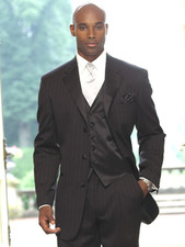 Ralph Lauren Chalk Stripe Tuxedo - 2 or 3 button