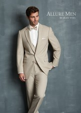 Allure Men: Tan 'Bartlett' Tuxedo