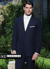 Ike Behar Evening: Navy Collin Suit
