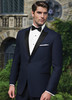 Ike Behar Evening: Navy Blake Tuxedo