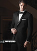 Ike Behar Evening: Black Braydon Tuxedo